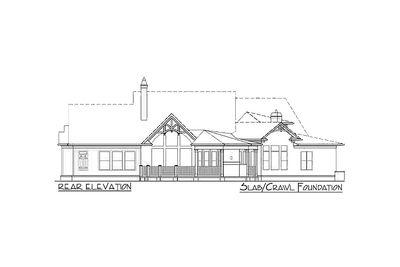 Award-Winning Gable Roof Masterpiece - 15651GE thumb - 25