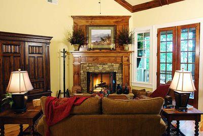Rustic Lodge Home Plan - 15655GE thumb - 02