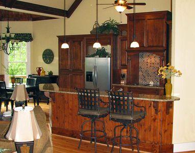 Rustic Lodge Home Plan - 15655GE thumb - 03