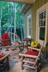Rustic Lodge Home Plan - 15655GE thumb - 05