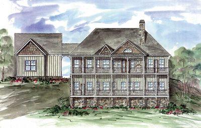 Rustic Lodge Home Plan - 15655GE thumb - 07