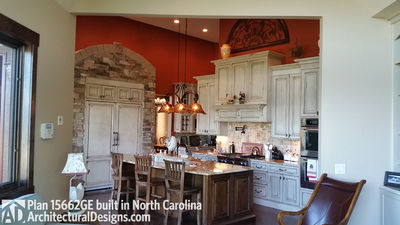 House Plan 15662GE comes to life in North Carolina - photo 003