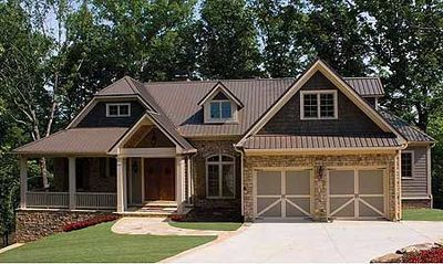 Split Bedroom Craftsman Home Plan - 15667GE thumb - 02