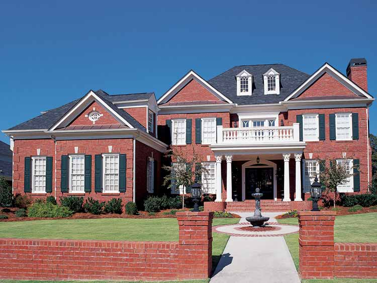 Stately Traditional Home Plan 15670ge Architectural