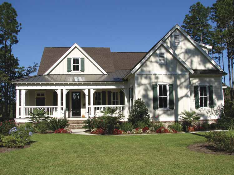 Low Country Craftsman Simplicity - 15710GE | Architectural Designs