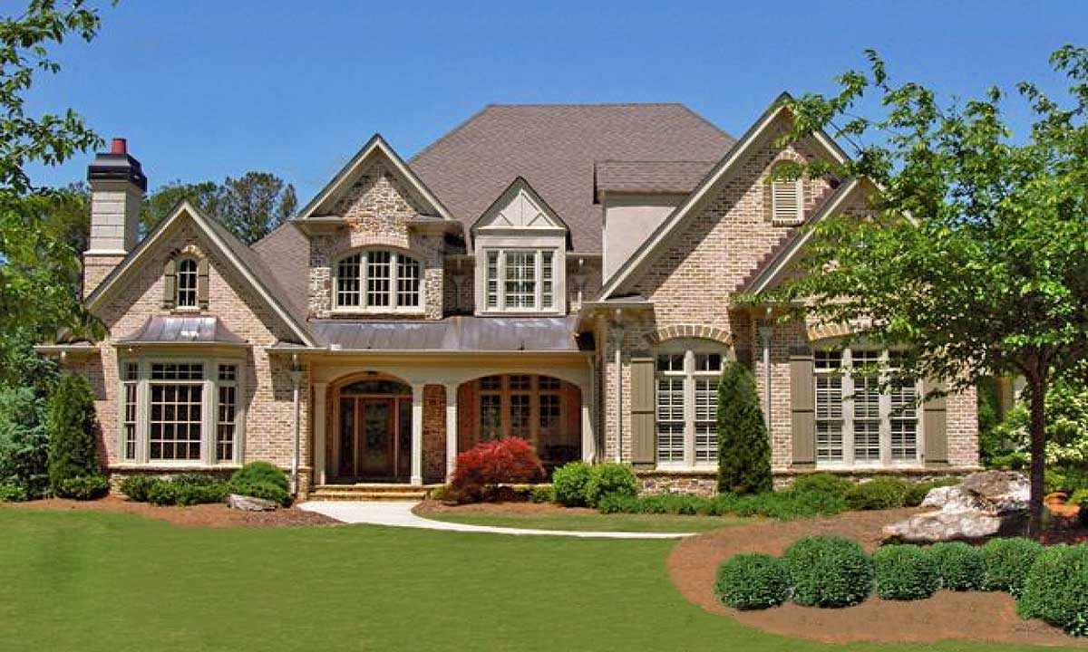2 story grand room classic 15715ge architectural for Architectural designs com