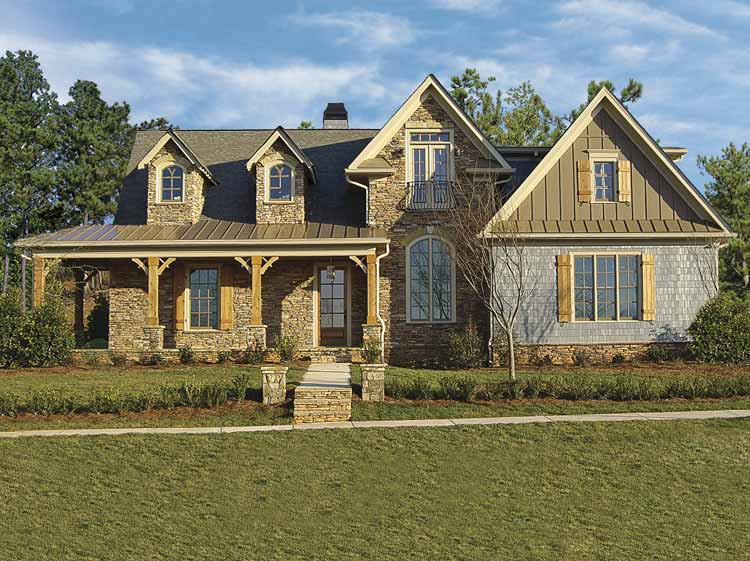 Stone farmhouse 15716ge 1st floor master suite butler - Stone house designs and floor plans ...
