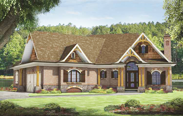 Craftsman mountain home plan 15726ge architectural for Architectural design mountain home