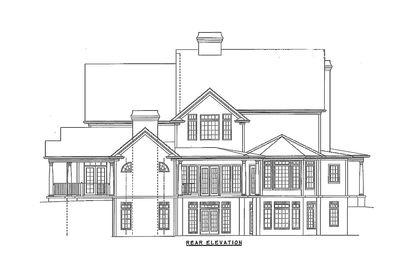 Luxurious Farmhouse Plan - 15754GE thumb - 12