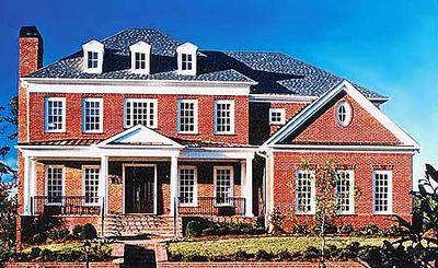 Majestic Traditional Home Plan - 15763GE thumb - 02