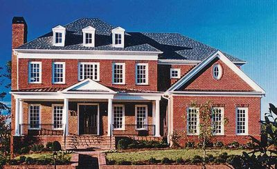 Majestic Traditional Home Plan - 15763GE thumb - 01