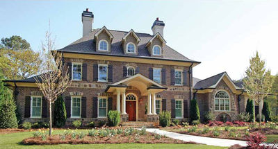 Stately Traditional Home Plan - 15765GE thumb - 01