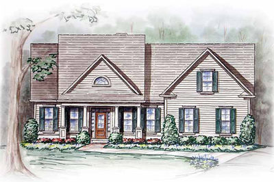 Southern Home Plan With Sunroom 15776ge Architectural