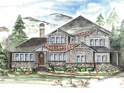 Master with Sleeping Porch 15784GE Architectural Designs House