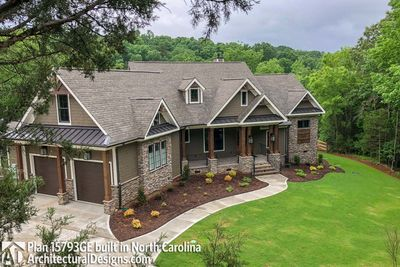 Stunning mountain ranch home plan 15793ge for North carolina mountain house plans