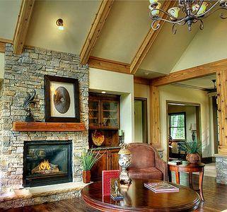 Stunning Mountain Ranch Home Plan - 15793GE thumb - 03