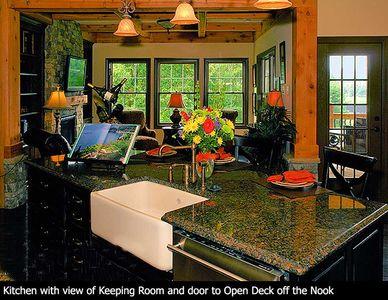 Stunning Mountain Ranch Home Plan - 15793GE thumb - 04