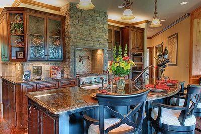 Stunning Mountain Ranch Home Plan - 15793GE thumb - 05
