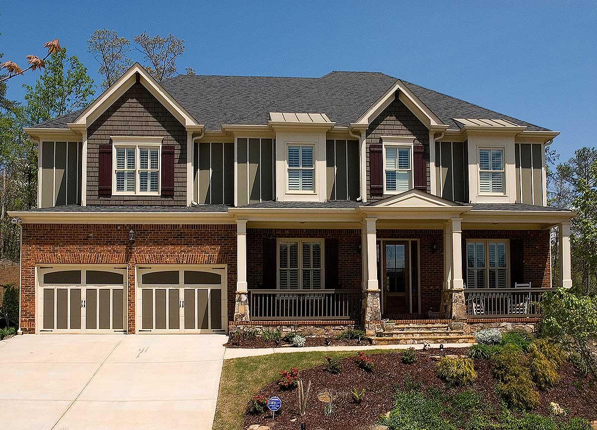 Wide Front Porch 15826ge 2nd Floor Master Suite Bonus