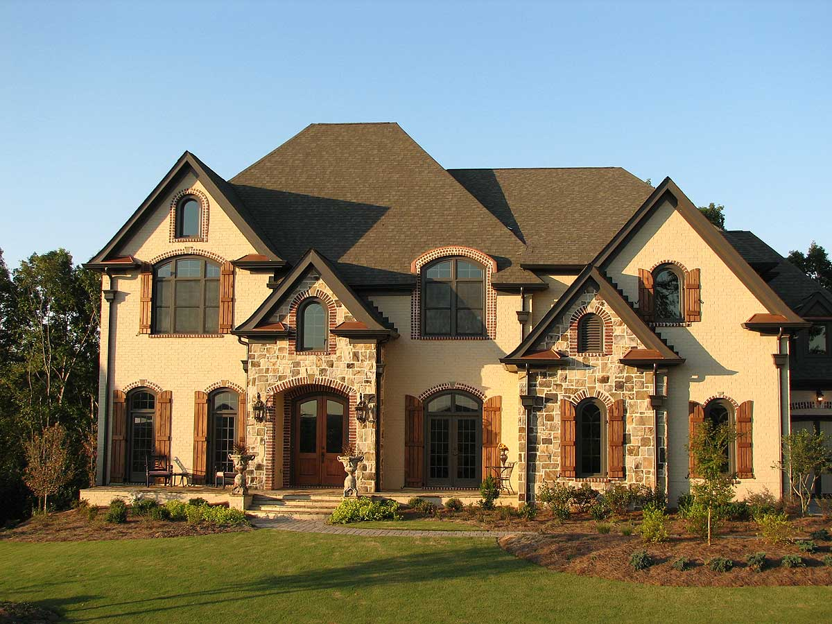 Stunning european home plan 15835ge architectural for Euro design homes