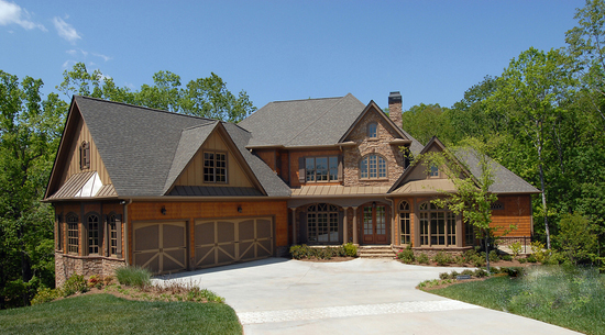 Lodge Like Spin To A Classic Home Plan 15881ge Architectural Designs House Plans