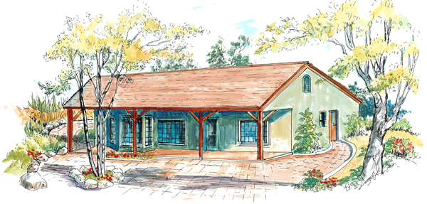 Economical Ranch House Plan 16204md Architectural
