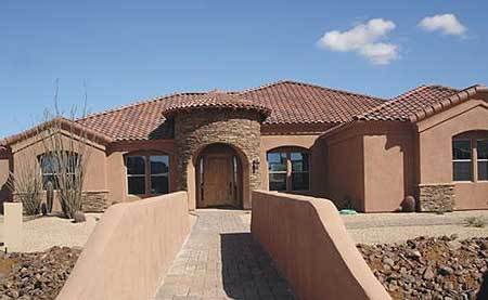 Southwestern beauty 16304md architectural designs for Southwestern home designs