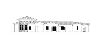 Courtyard Plan with Guest Casita - 16312MD thumb - 03