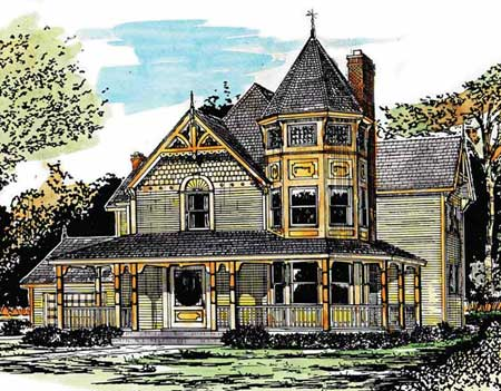 From another era 1645s 2nd floor master suite mbr for Victorian era house plans