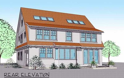 2 story passive solar gambrel house plan 16503ar for One story passive solar house plans