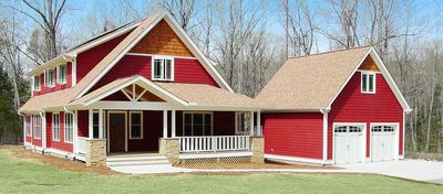 Energy Efficient Red Bungalow - 16702RH thumb - 01