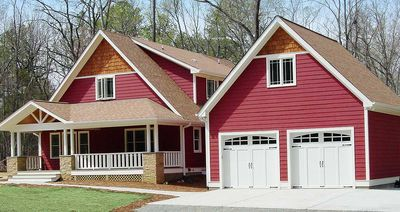 Energy Efficient Red Bungalow - 16702RH thumb - 02