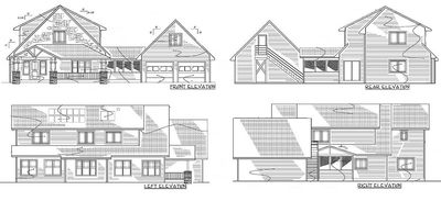 Energy Efficient Red Bungalow - 16702RH thumb - 21