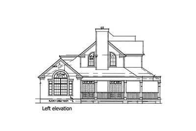 Country Farmhouse with Wrap-around Porch - 16804WG thumb - 04