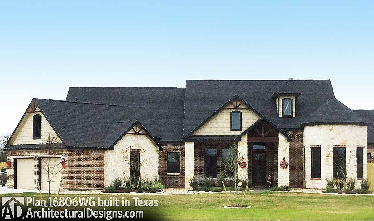 House Plan 16806WG comes to life in Texas - photo 001