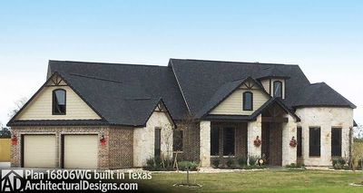 House Plan 16806WG comes to life in Texas - photo 002