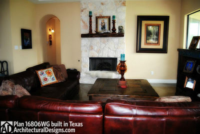 House Plan 16806WG comes to life in Texas - photo 007