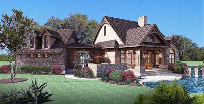 Stone Cottage with Flexible Garage - 16807WG thumb - 04