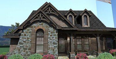 Stone Cottage with Flexible Garage - 16807WG thumb - 08