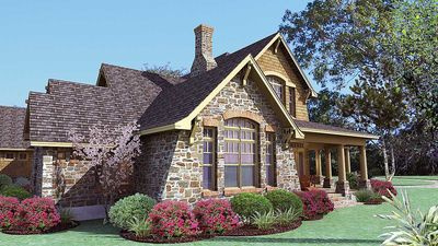 Cedar & Stone Cottage with Detached Garage - 16808WG thumb - 05