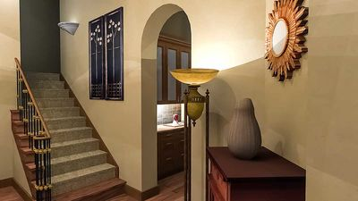 Luxury Plan with Tuscan Influences - 16811WG thumb - 22