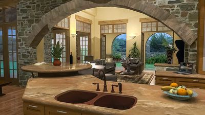 Luxury Plan with Tuscan Influences - 16811WG thumb - 20