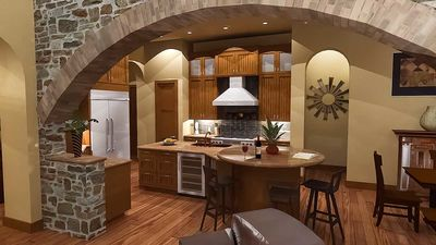 Luxury Plan with Tuscan Influences - 16811WG thumb - 18