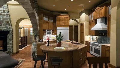 Luxury Plan with Tuscan Influences - 16811WG thumb - 19