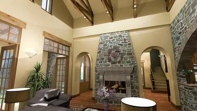 Luxury Plan with Tuscan Influences - 16811WG thumb - 17
