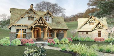Rustic Look with Detached Garage - 16812WG thumb - 15