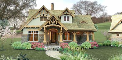 Rustic Look with Detached Garage - 16812WG thumb - 16