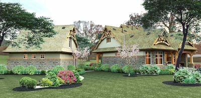 Rustic Look with Detached Garage - 16812WG thumb - 19