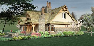 Rustic Look with Detached Garage - 16812WG thumb - 20