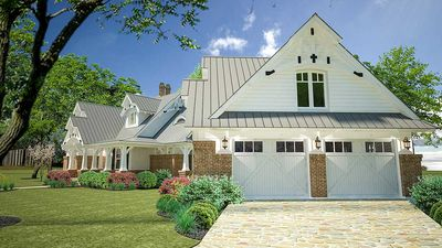 Rustic Look with Detached Garage - 16812WG thumb - 04
